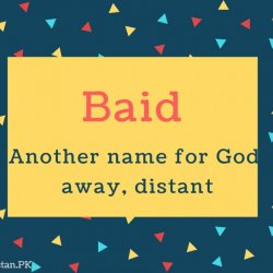 Baid Name Meaning Another name for God, away, distant