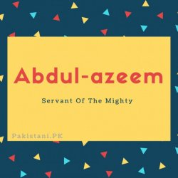 Abdul-azeem