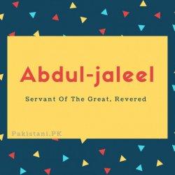 Abdul-jaleel