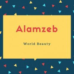 Alamzeb Name Meaning World Beauty