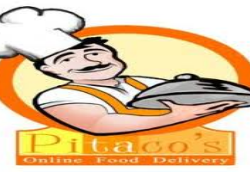 Pitacos Food Delivery Logo