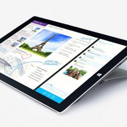 Microsoft Surface Pro 3 Front View