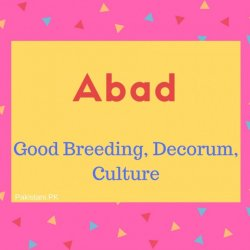 Adab Name Meaning Good Breeding, Decorum, Culture.
