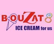 bouzat ice cream logo