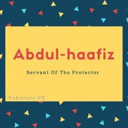 Abdul-haafiz