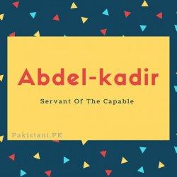 Abdel-kadir