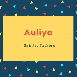 Auliya Name Meaning Another Name Saints, Fathers