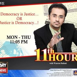 11th Hour With Waseem Badami Main Image