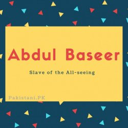 Abdul Baseer