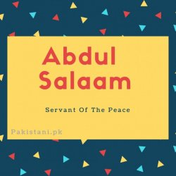 Abdul-salaam