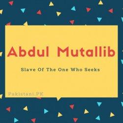 Abdul Mutallib