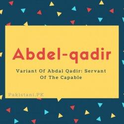 Abdel-qadir