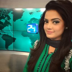 Beautiful Ramsha Kanwal in Green Dress