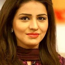 Gorgeous Anchor Neelam Aslam