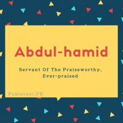 Abdul-hamid