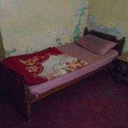 New Shah Jahan Hotel Single Bedroom