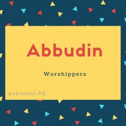 Abbudin name meaning Worshippers (1)
