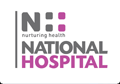 National Hospital Logo