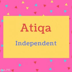 Atiqa name Meaning Independent.