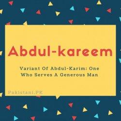 Abdul-kareem