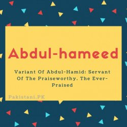 Abdul-hameed