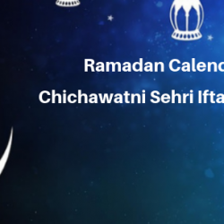 Ramadan Calender 2019 Chichawatni Sehri Iftaar Time Table