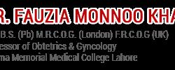 Dr Fauzia Monnoo Khan