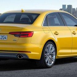 Audi A4 2016 Yellow
