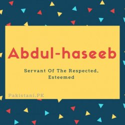 Abdul-haseeb