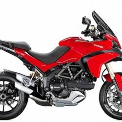 Ducati Multistrada 1200S - red