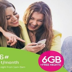zong monthly 6 GB.
