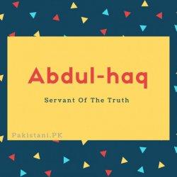 Abdul-haq