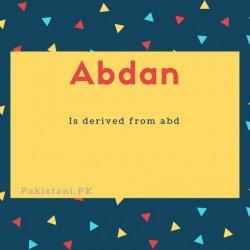Abdan