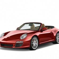 Porsche 911 Carrera S over view