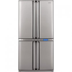 Sharp SJ-F800SPBK Bottom Freezer Four Door