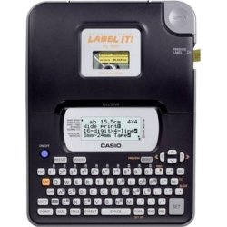 Casio KL-820 Label Printer - Complete Specifications
