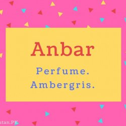 Anbar Name Meaning Perfume. Ambergris.