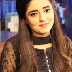 Addorable Sehrish Mansoor in Black Dress