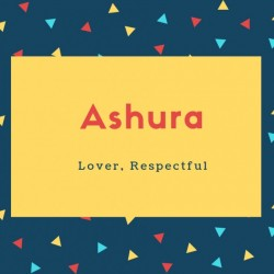 Ashura Name Meaning Tenth