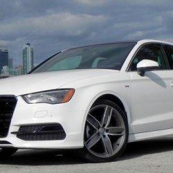 Audi A3 Sedan White