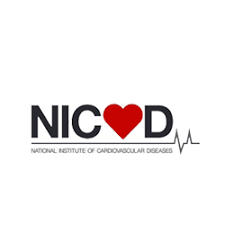 National Institute of Cardiovascular Diseases [NICVD] logo