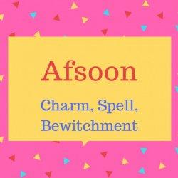 Afsoon