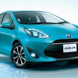 Toyota aqua 2017-sky blue