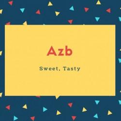 Azb Name Meaning Sweet, Tasty