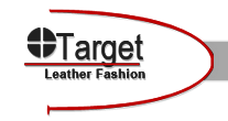 TARGET LEATHER FASHION Logo