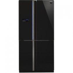 Sharp SJ-FS820VBK Bottom Freezer Four Door