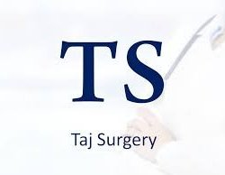 Taj Surgery logo