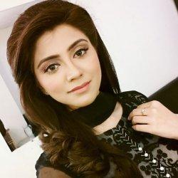 Smart Irza Khan in Black Dress
