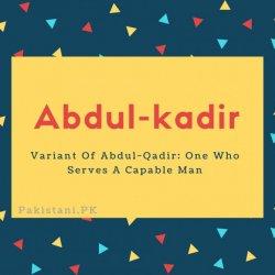 Abdul-kadir