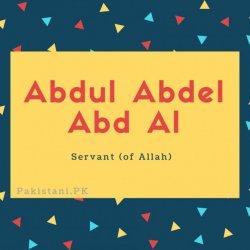 Abdul Abdel Abd Al